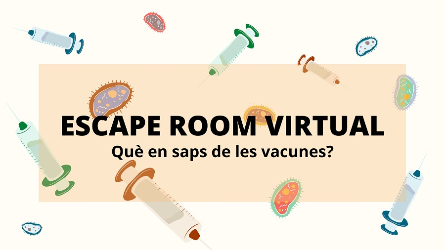 Què en saps de les vacunes? ESCAPE ROOM VIRTUAL
