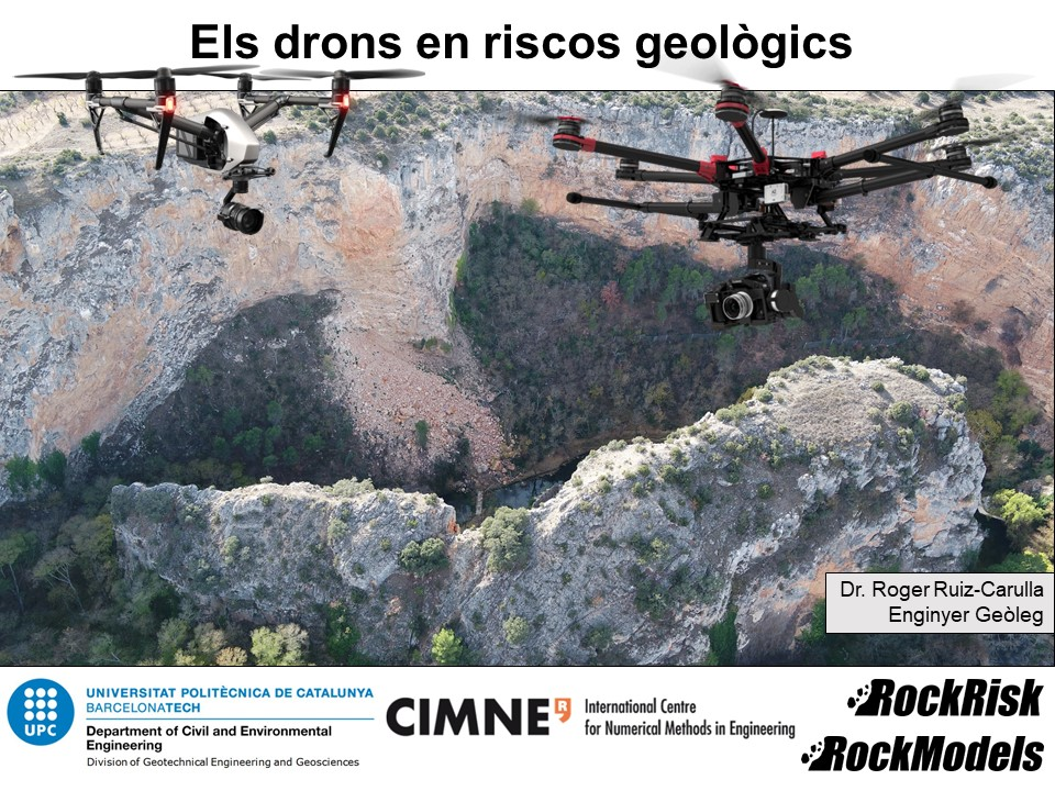 Els drons en riscos geològics