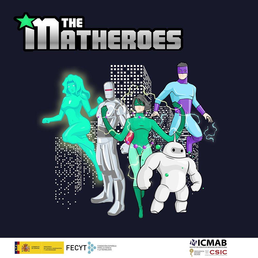 Escape Room Virtual: Descobreix els Matheroes, els supermaterials del futur!