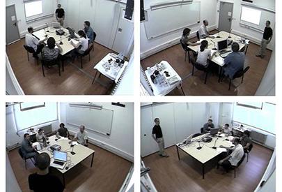 Experiència en una Smart Room (sala intel·ligent)